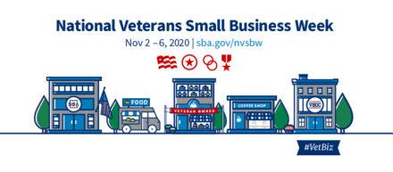 National Veterans Small Business Week logo