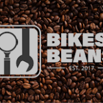coffee beans with logo over the top
